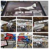 Projeto histórico New York da restauração dos aviões Imagens de Stock