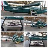 Projeto histórico New York da restauração dos aviões Imagens de Stock Royalty Free
