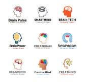 Projeto humano da mente principal Fotos de Stock