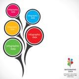 Projeto infographic criativo ilustração royalty free