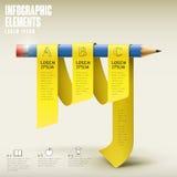 Projeto infographic do molde da educação Foto de Stock Royalty Free