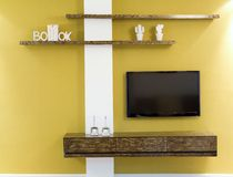 Projeto interior Foto de Stock