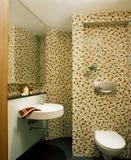 Projeto interior - banheiro Fotos de Stock Royalty Free