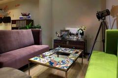 Projeto interior da arte do espaço Foto de Stock Royalty Free