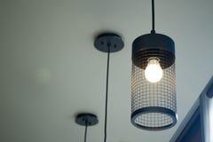 Projeto interior da lâmpada foto de stock
