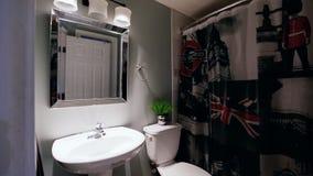 Projeto interior do banheiro filme