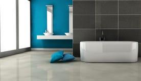 Projeto interior do banheiro Imagens de Stock Royalty Free