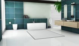 Projeto interior do banheiro Fotografia de Stock