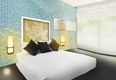 Projeto interior do quarto luxuoso ilustração stock