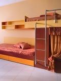Projeto interior do quarto novo bonito e moderno. Imagens de Stock Royalty Free