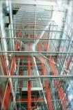 Projeto interior - estrutura de elevador imagens de stock