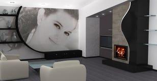 Projeto interior Home imagem de stock royalty free