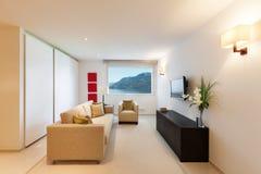 Projeto interior moderno Fotografia de Stock Royalty Free