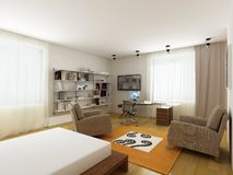 Projeto interior moderno Fotos de Stock Royalty Free