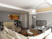 Projeto interior moderno Foto de Stock Royalty Free