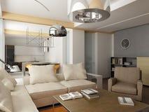 Projeto interior moderno Imagens de Stock