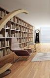 Projeto interior moderno da sala de visitas Foto de Stock Royalty Free
