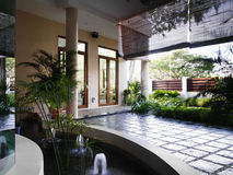 Projeto interior - paisagem foto de stock royalty free