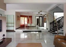 Projeto interior - vivendo Imagem de Stock