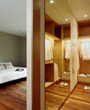 Projeto interior - wardrobe imagem de stock royalty free