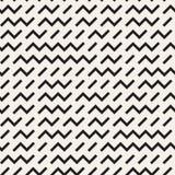 Projeto irregular de Maze Shapes Tiling Contemporary Graphic Teste padrão preto e branco sem emenda do vetor ilustração do vetor