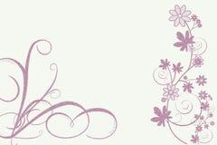 Projeto irrisório das flores Foto de Stock Royalty Free