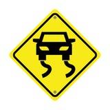 projeto isolado do ícone do sinal de tráfego Imagens de Stock Royalty Free