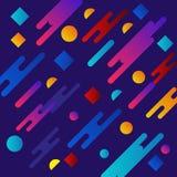 Projeto l?quido do fundo da cor O inclina??o fluido d? forma ? composi??o Cartazes futuristas do projeto Vetor Eps10 ilustração stock