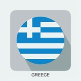 projeto liso da bandeira nacional, bandeira de Europa, bandeira asiática Foto de Stock