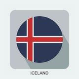 projeto liso da bandeira nacional, bandeira de Europa, bandeira asiática Imagem de Stock Royalty Free