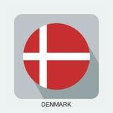 projeto liso da bandeira nacional, bandeira de Europa, bandeira asiática Fotografia de Stock
