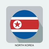 projeto liso da bandeira nacional, bandeira do mundo, bandeira do asiático de Europa Fotos de Stock
