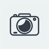 projeto liso da fotografia, projeto do fotógrafo, projeto da câmera do tiro, projeto da lente Imagens de Stock Royalty Free