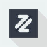 projeto liso do ícone da seta, botão da seta, Imagem de Stock Royalty Free