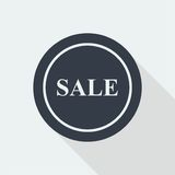 projeto liso do disconto da venda Fotos de Stock
