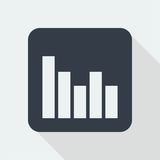Projeto liso do gráfico projeto da matemática Foto de Stock Royalty Free