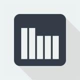 Projeto liso do gráfico projeto da matemática Imagens de Stock Royalty Free