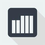 Projeto liso do gráfico projeto da matemática Foto de Stock
