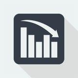 Projeto liso do gráfico projeto da matemática Fotos de Stock