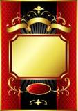 Projeto luxuoso da caixa de presente Imagem de Stock Royalty Free
