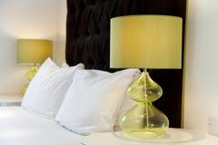 Projeto luxuoso da cama Imagem de Stock