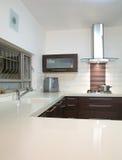 Projeto luxuoso da cozinha Fotografia de Stock
