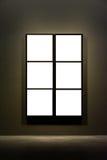 Projeto mínimo Clipp isolado branco de Art Museum Frame Wall Ornate foto de stock