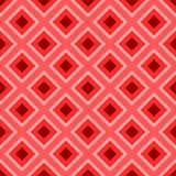 Projeto mínimo do teste padrão no quadrado ilustração royalty free