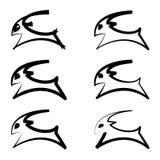 Projeto maravilhoso e simples do logotipo de uma ram Imagens de Stock Royalty Free