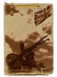 Projeto memorável militar ilustração stock