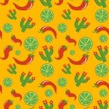 Projeto mexicano da ilustração do vetor do teste padrão Ilustração do Vetor