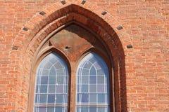 Projeto modelado da janela da igreja Fotos de Stock Royalty Free