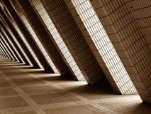 Projeto moderno da arquitetura fotografia de stock royalty free