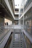 Projeto moderno da escola da arquitetura Fotografia de Stock Royalty Free